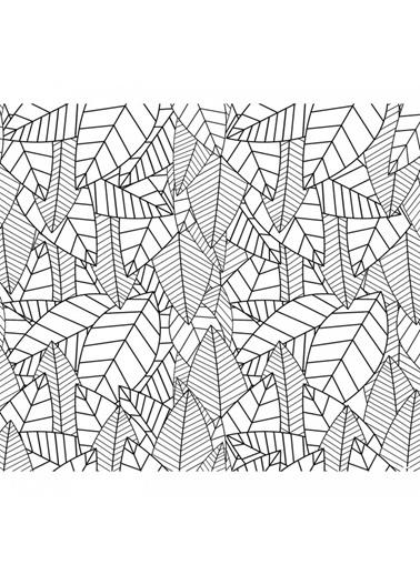 Artikel Yaprak Çizimleri-1 Masa Örtüsü 140X160Cm Renkli